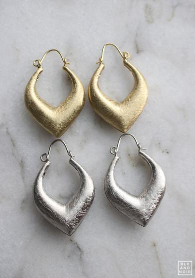 V Shape Earrings