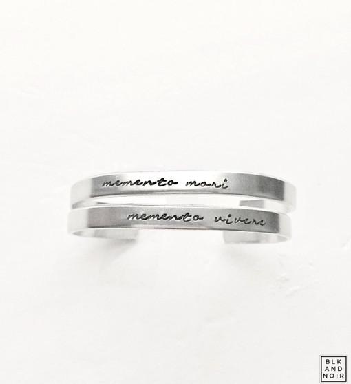 Memento Vivere   Memento Mori Bracelet