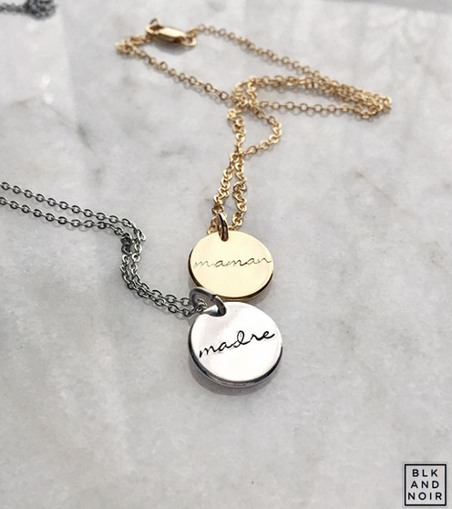 Madre Necklace // Maman Necklace