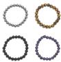 Gemstone Bead Stretch Bracelet