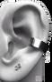 Plain Silver Ear Cuff