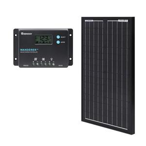 RENOGY 30W 単結晶 ソーラーパネル 12VPWM 10A チャージコントローラー