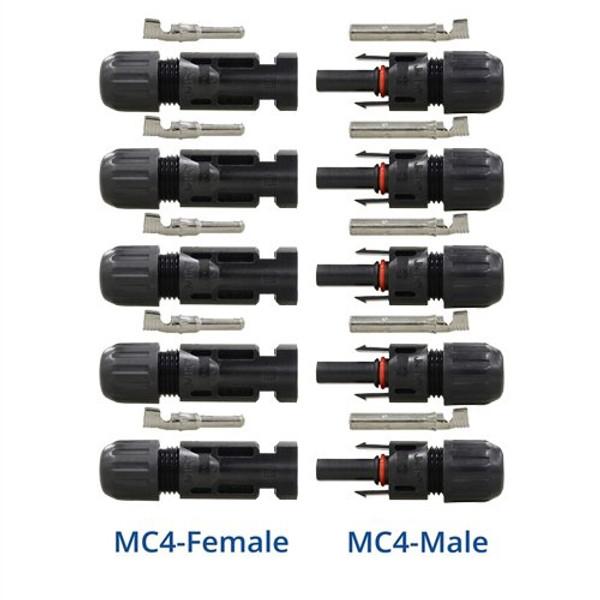 RENOGY MC4コネクター オス・メス5セット