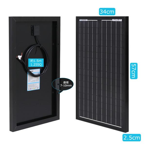 RENOGY ソーラーパネル単結晶30W