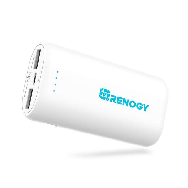 RENOGY モバイルバッテリー 10000mAH 白
