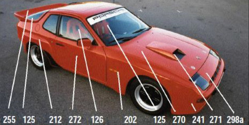 Porsche 944 Parts >> Porsche 924 Carrera Gt Body Kit