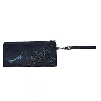 Stacy Kessler Bauvez Blue Wristlet
