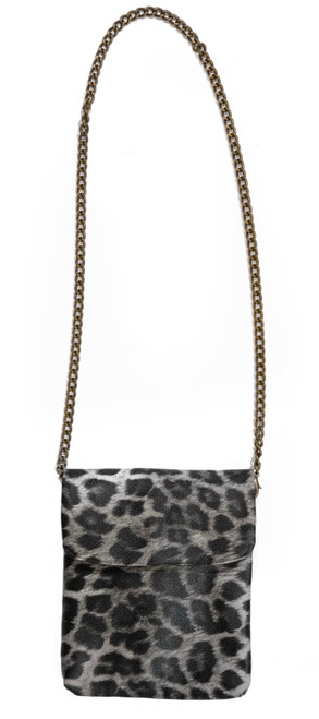 Disco Bag Crossbody Leopard Mini