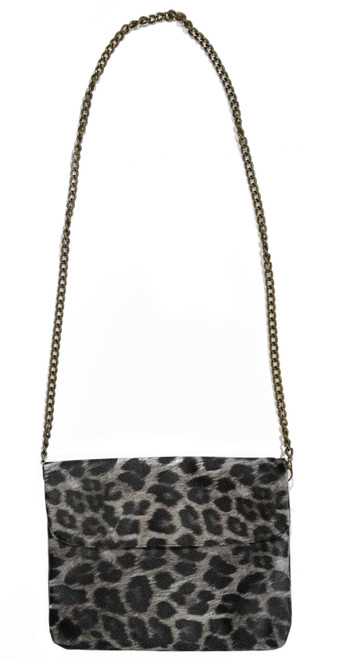 Disco Bag Crossbody Leopard Maxi