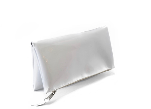 White Patent Leather Mini