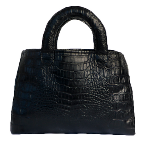 Stacy Bag - Black Croc