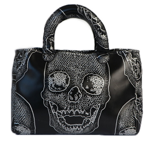 Stacy Bag- Black Skull
