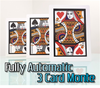 Automatic Three Card Monte Jumbo Magic Card Trick Gospel