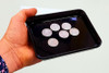 NEW - Multiplying Coin Tray - Pro Quality - Coins multiply in the spectator's hand! Widows Mite / Parable of the Talents