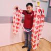Heart silk streamer Gospel Magic Trick Children