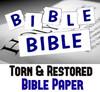 Bible Paper Torn & Restored Magic Trick