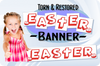 Easter Banner - Torn & Restored - Gospel Magic Trick