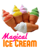 Sponge Ice Cream Magic Trick Appearing Disappearing