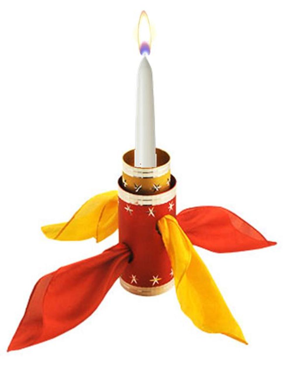 DiFatta Candle Thru Silk Gospel Magic Trick