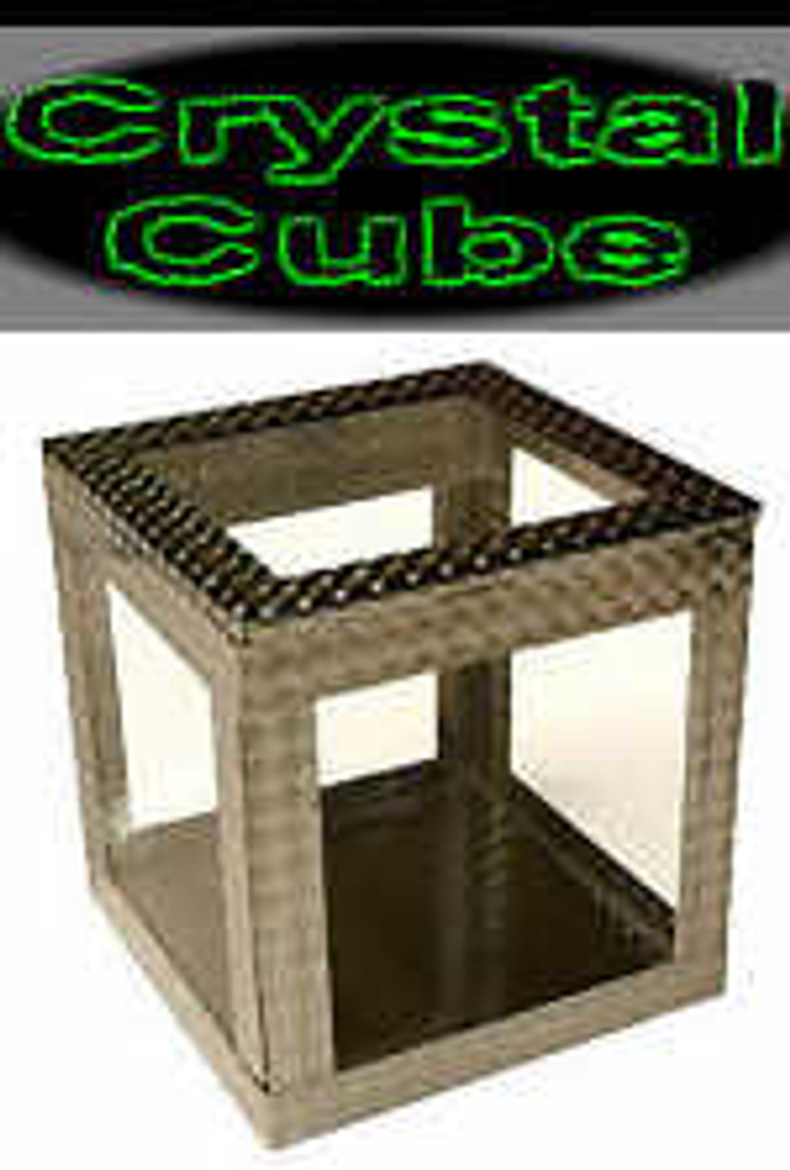 Crystal Cube - 4 Inch - Object vanish and appear with in this clearly empty box!