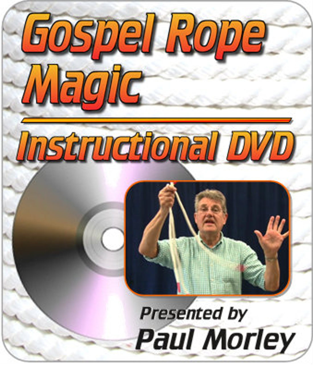 Gospel Rope Magic DVD Paul Morley Trick