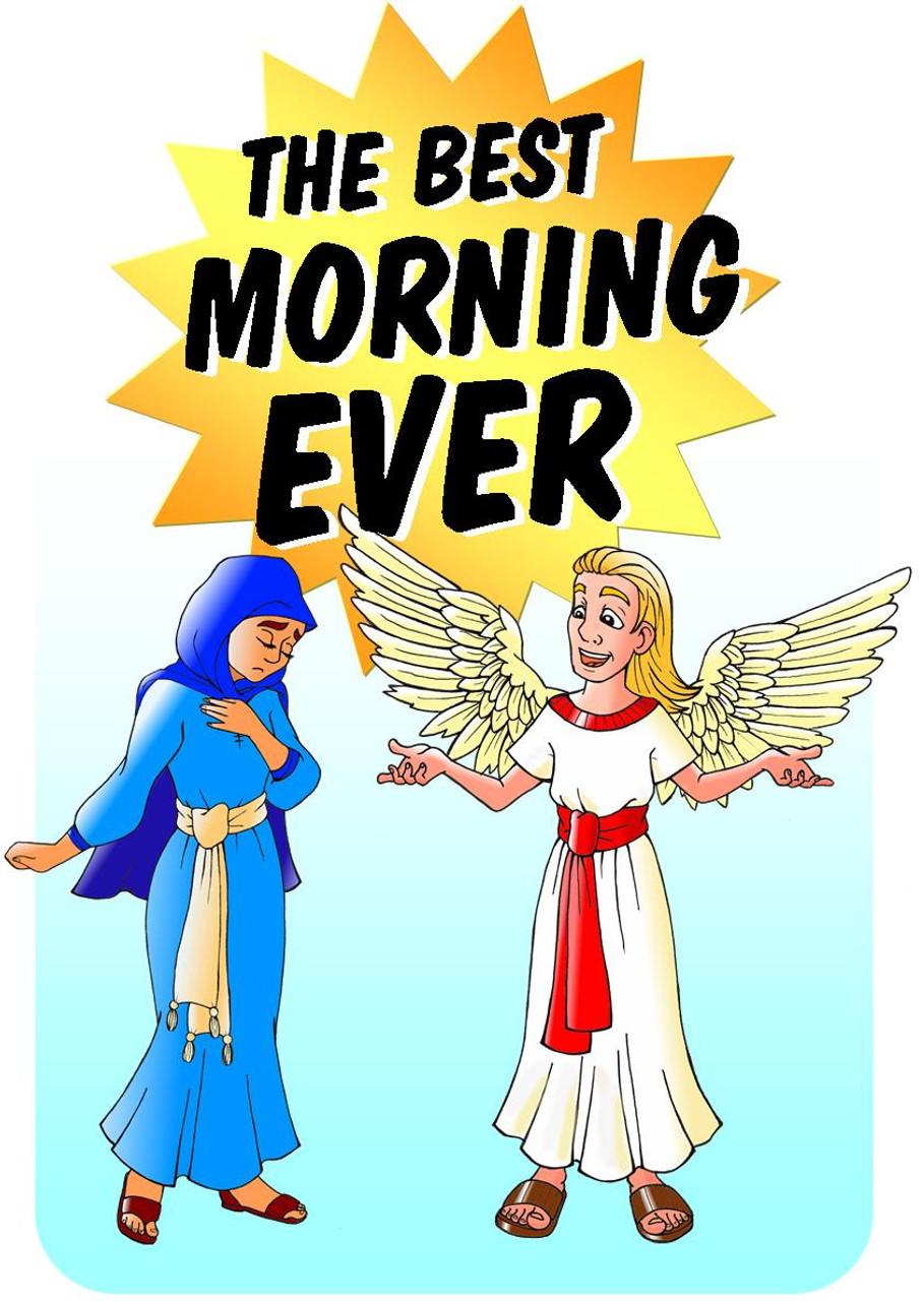 Best Morning Ever Angel Mary Magic Trick Gospel Easter Resurrection