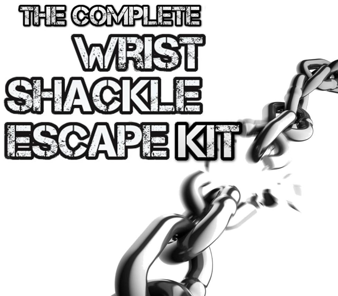 Magic Trick Gospel Shackles Handcuffs Escape