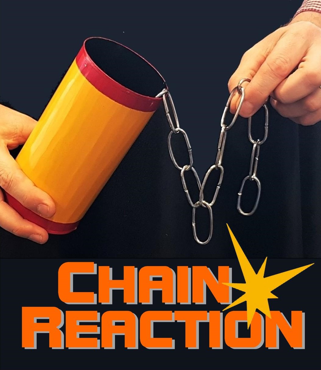 Chain Reaction Deluxe Welded Chain Effect Trick Gospel
