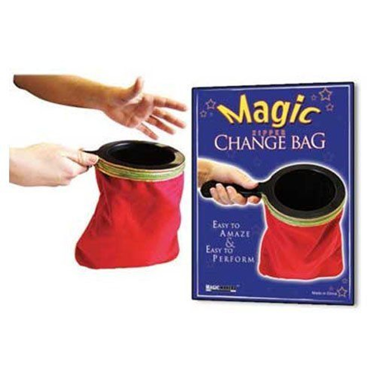Red Change Bag Zipper Magic Makers Gospel Trick