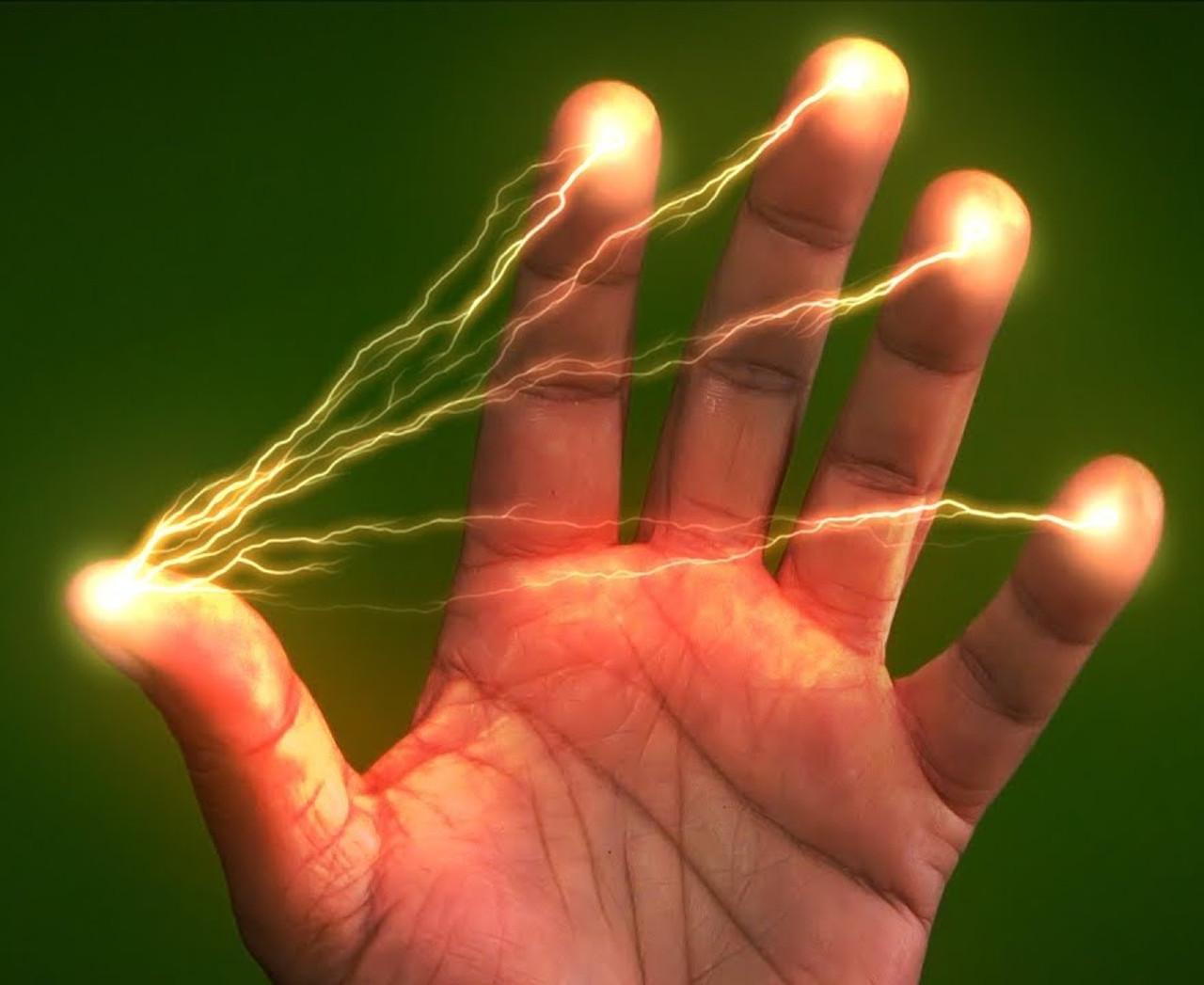 Electronic Thumbtip Lighter Magic Trick