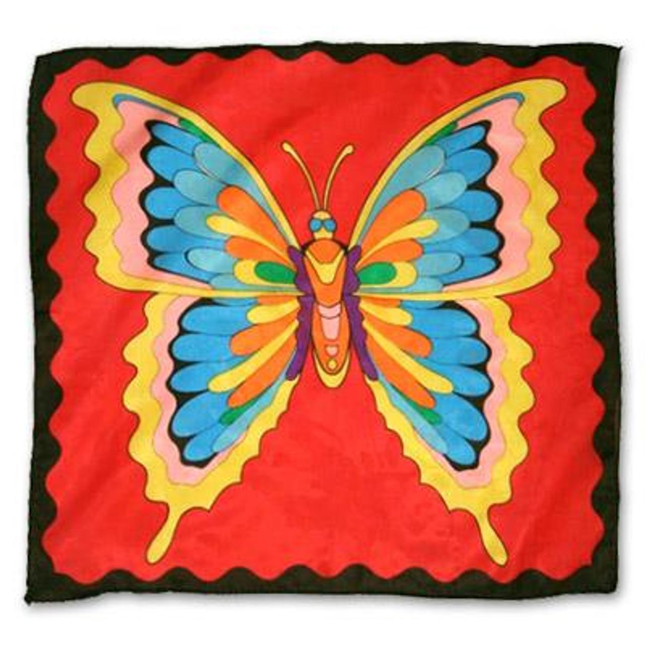 Large Butterfly Silk Magic Trick Gospel