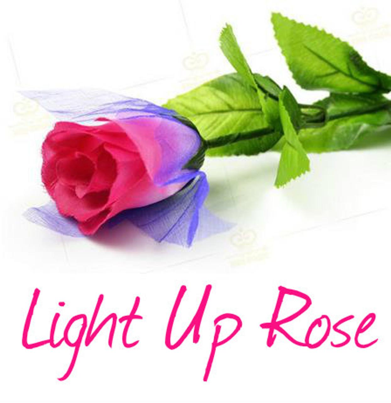 Light Up Rose Magic Trick