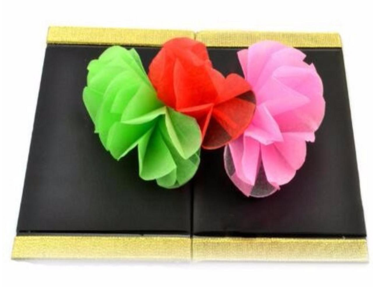 Flower Wallet Board Magic Trick Production Spring Gospel