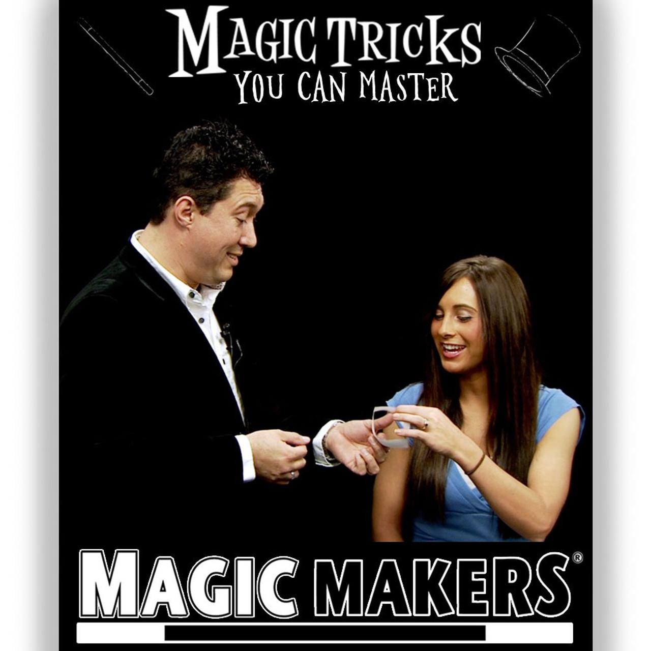 Magic Tricks DVD Paper Magic Makers Gospel