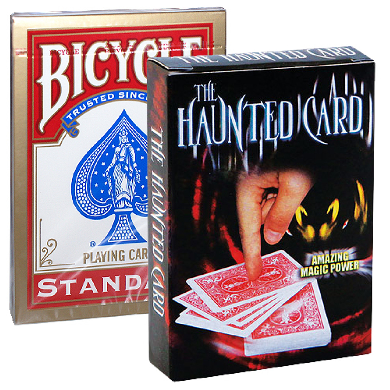 Haunted Card Magic Trick Card Gospel