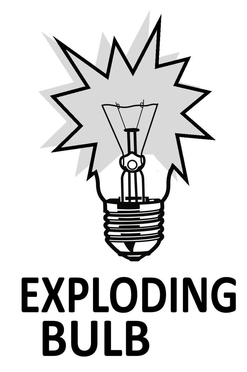 Exploding Bulb Magic Trick Mentalism Gospel Break Glass Big Bang