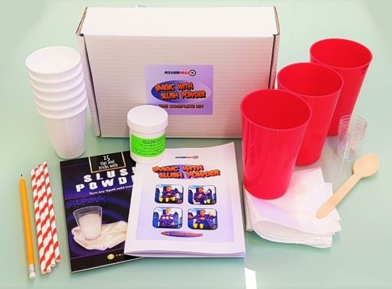 Booklet 25 Tips and Tricks With Slush Powder BRAND NEW BOOK