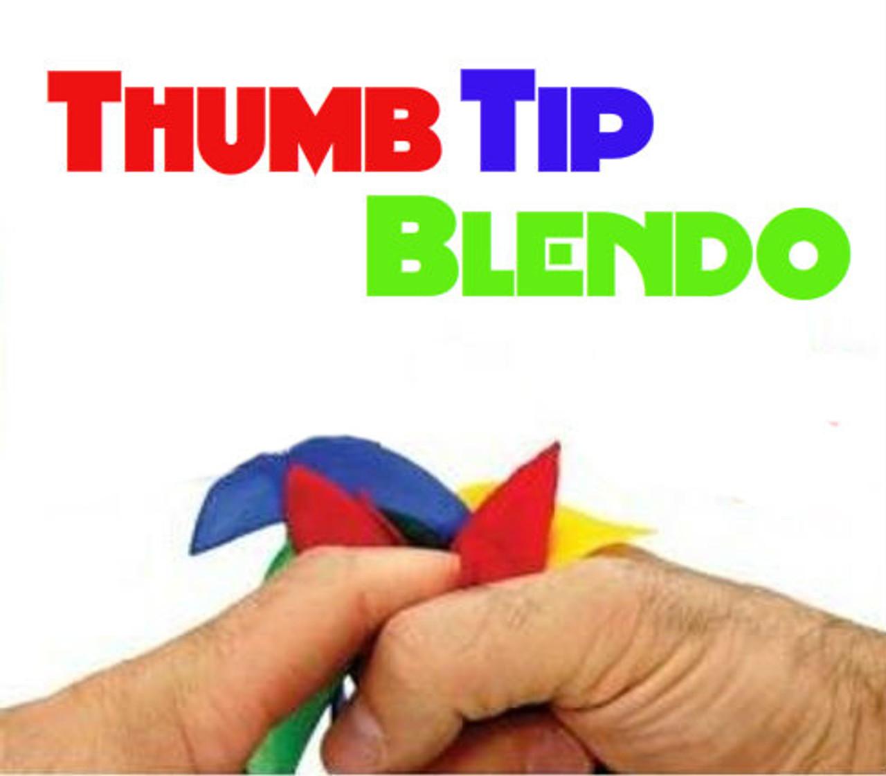 Thumb Tip Silk Blendo Magic Trick Difatta