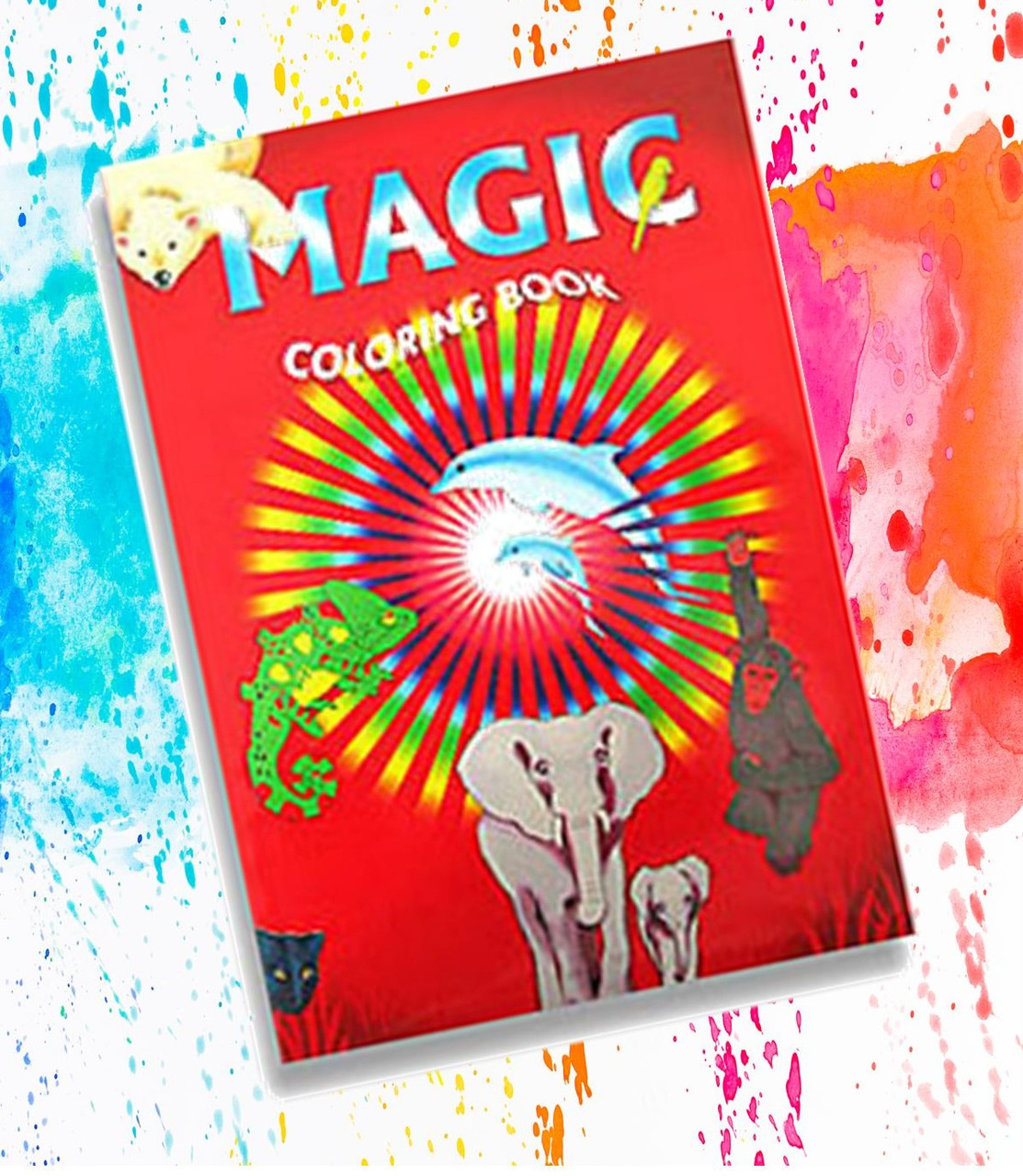 Animal Magic Colouring Book Trick Children Gospel Difatta