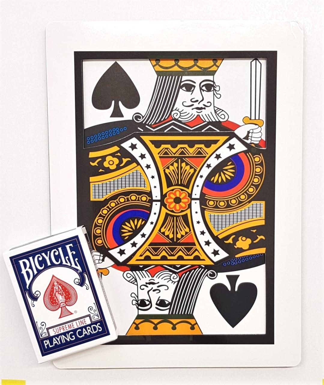 Automatic Three Card Monte Jumbo Magic Card Trick Gospel