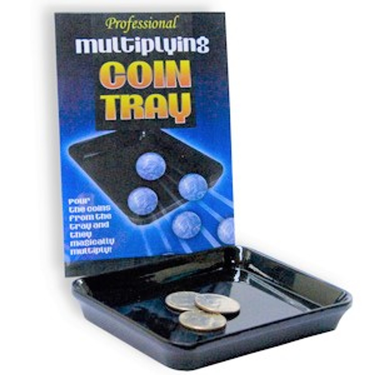 Multiplying Coin Tray Professional Magic Trick Gospel Trick Master