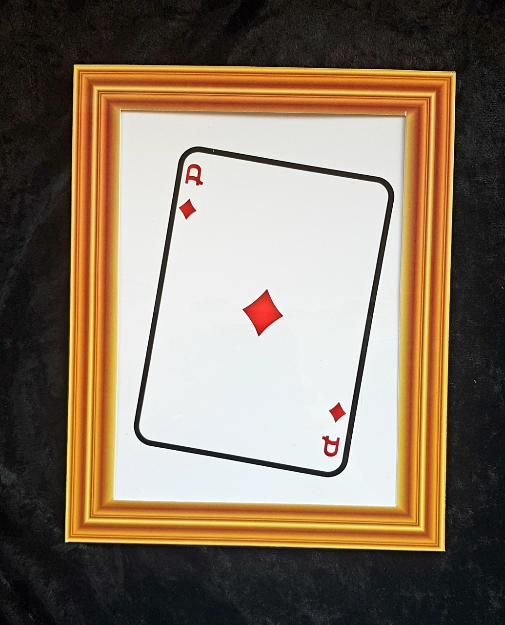 Jumbo Visible Card Change Magic Trick Mentalism Difatta