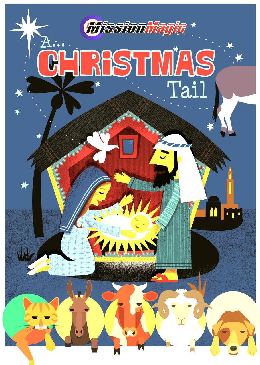 A Christmas Tail Tale Magic Trick Nativity Script Church