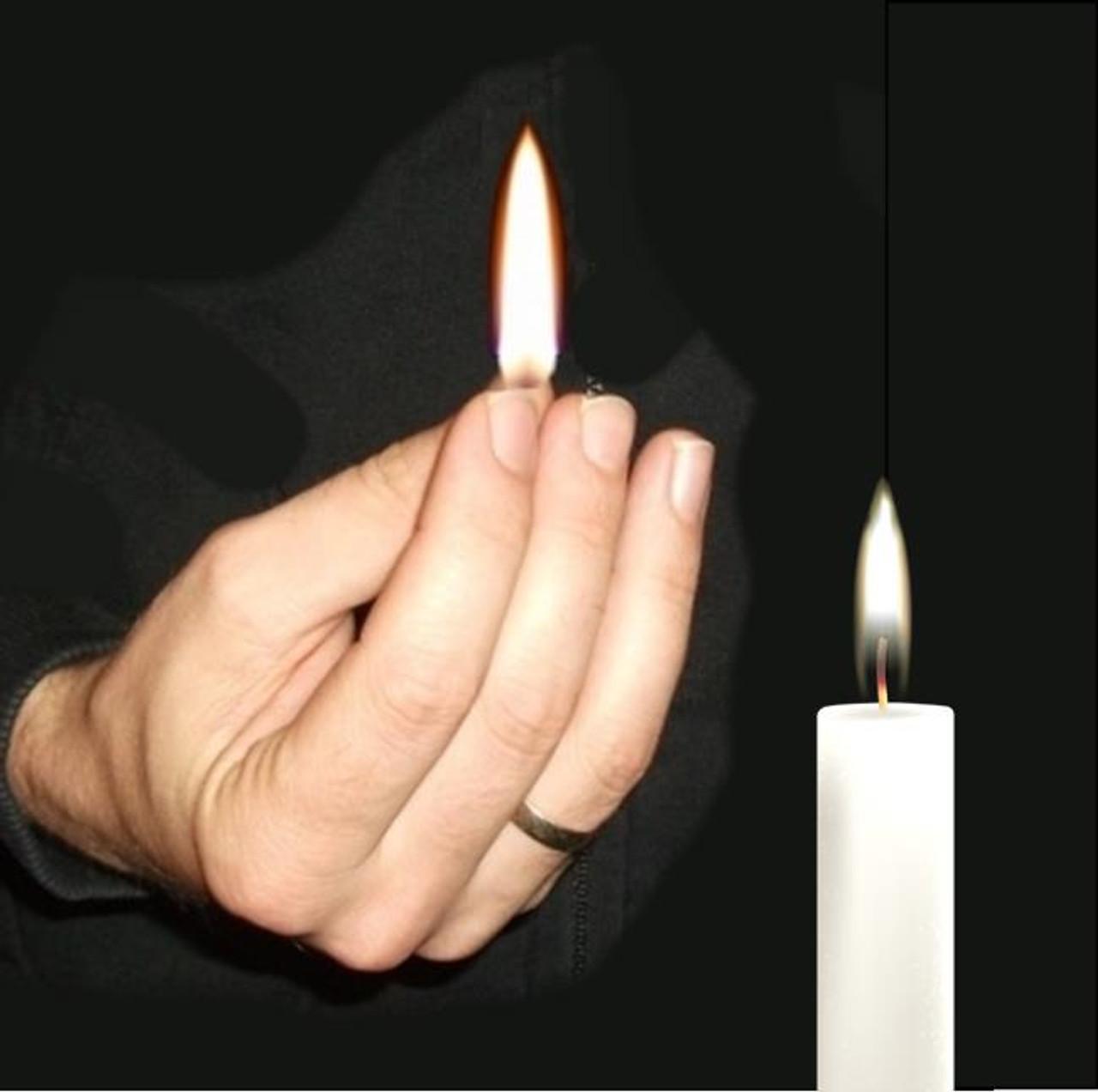 Vernet Thumb Tip Flame Magic Trick Gospel Christian