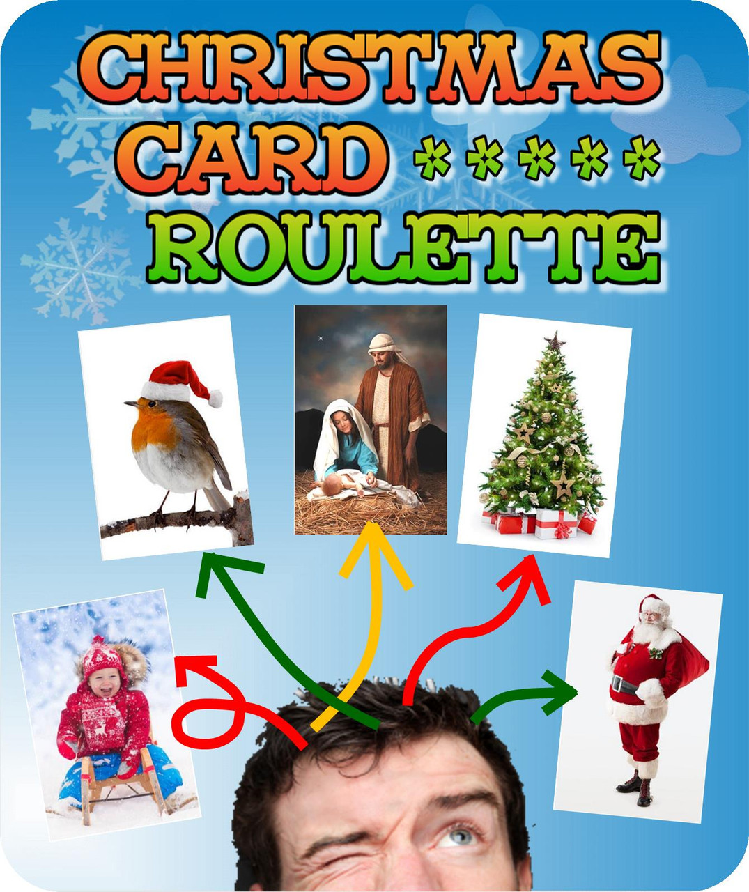 Christmas Card Roulette Gospel Magic Trick