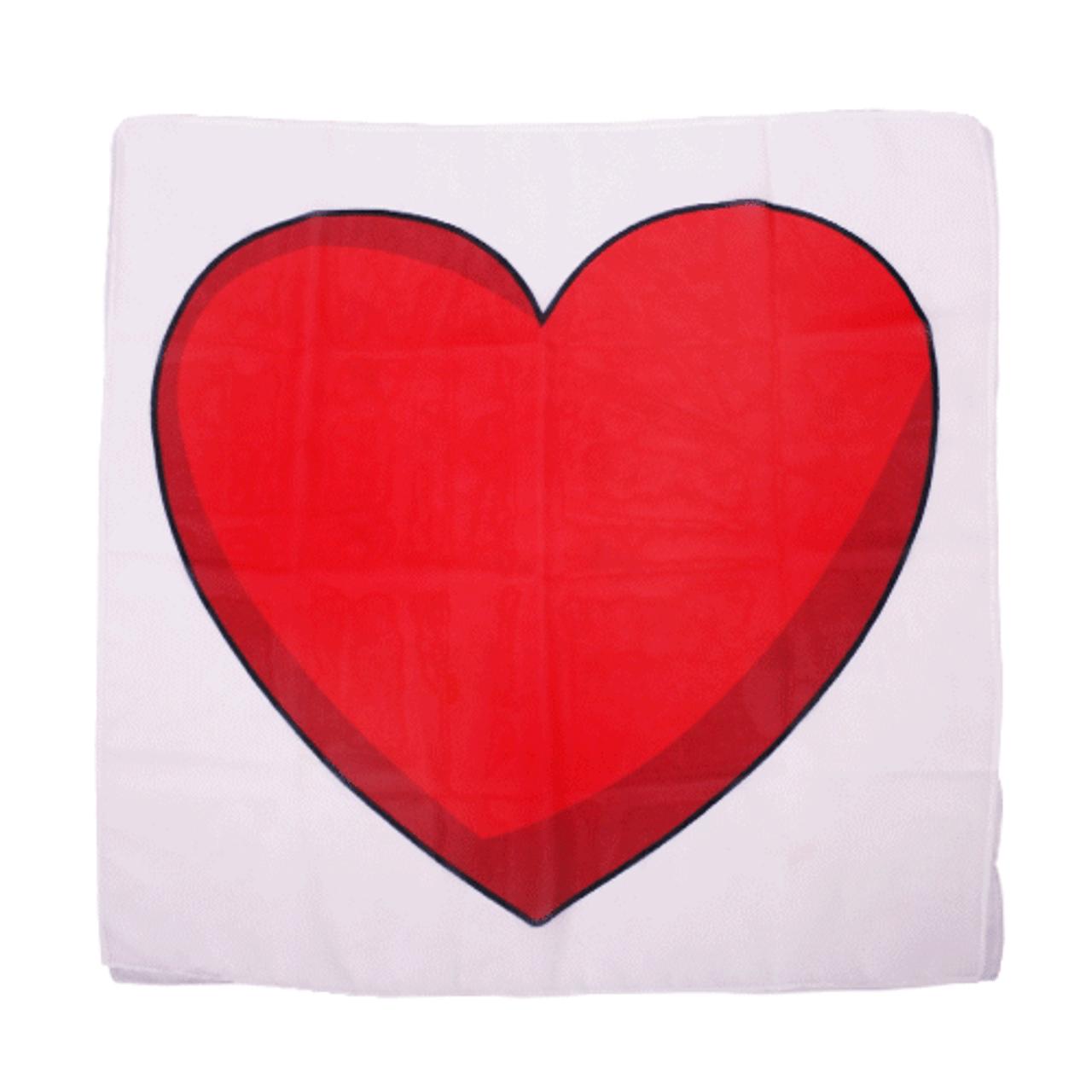 Comic Heart Scarf Set Gospel Magic Kids
