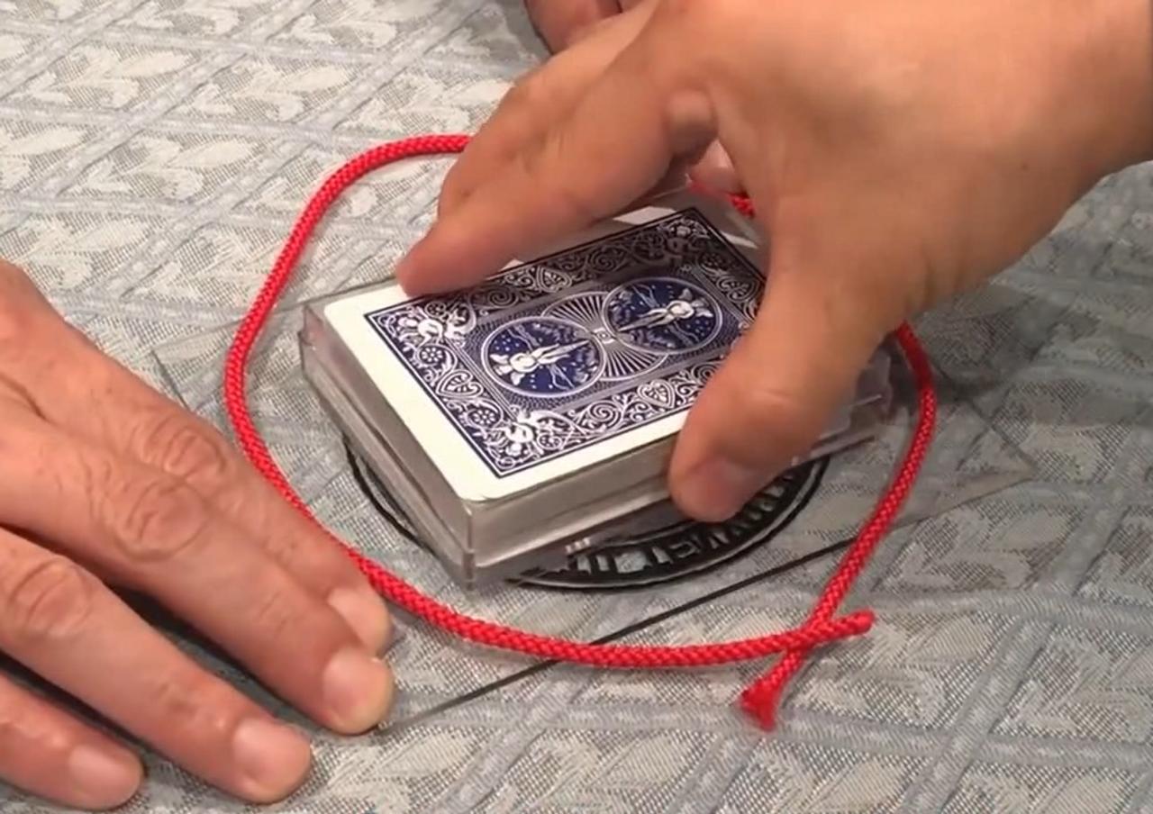 Tenyo Ultra Gravity Box Magic Trick Impossibly Heavy Houdin
