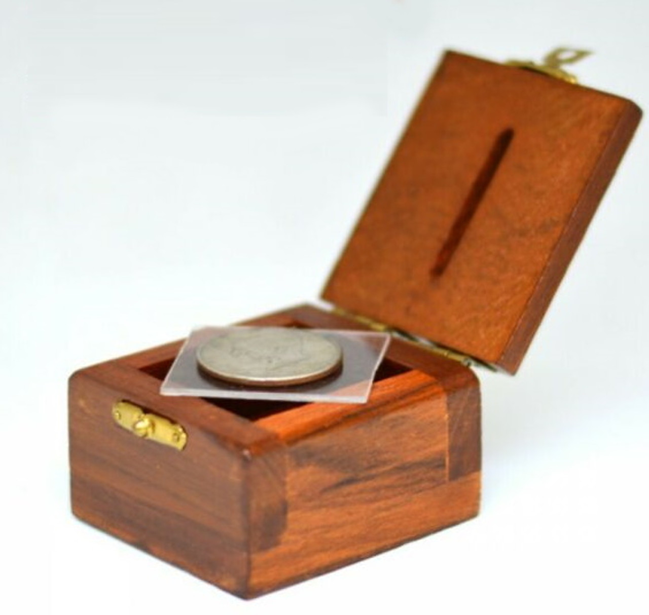 Ching Ling Coin Box Magic Trick Money Gospel