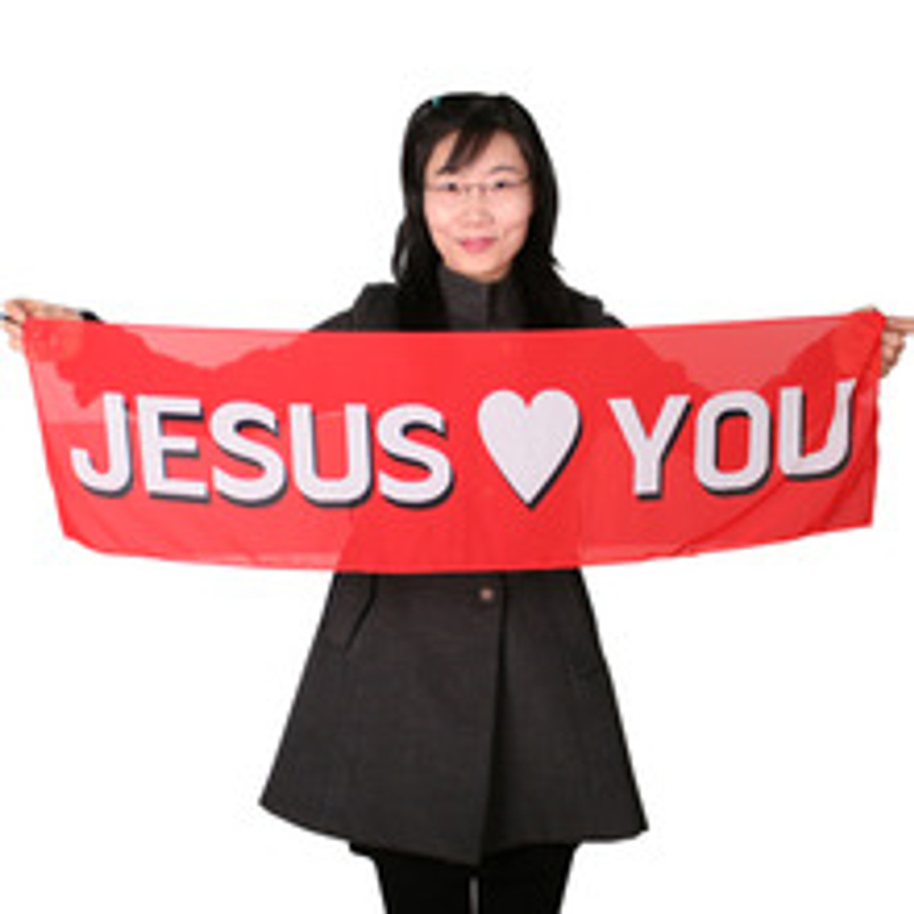Cane to Jesus Loves You Silk Gospel Magic Trick Kids