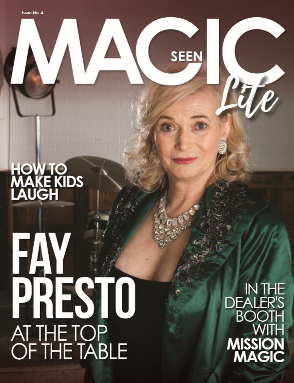 Magicseen Lite 4 Magazine UK Tricks
